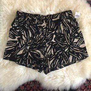 NWT GAP Leaf Print Pull On Shorts